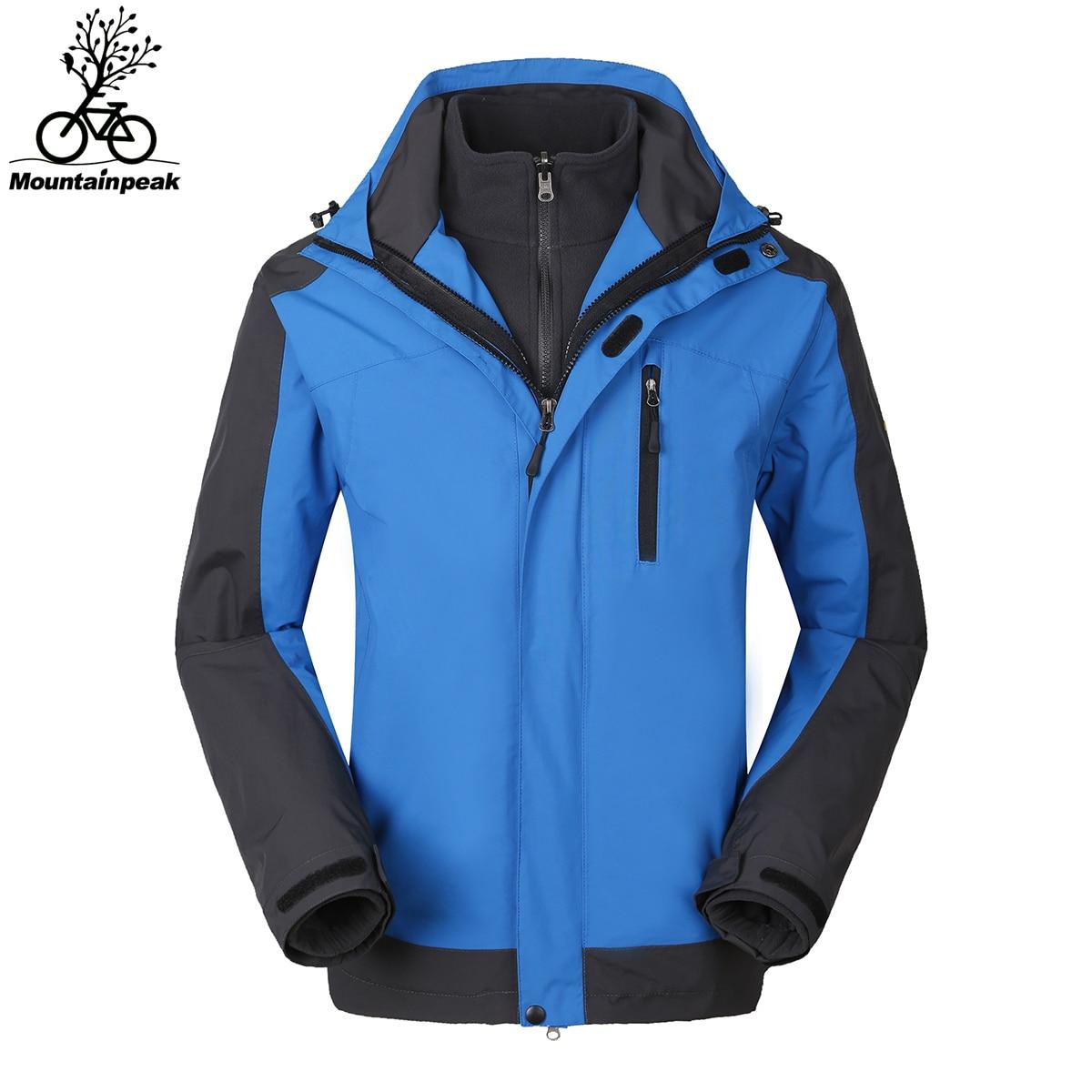 Mountainpeak Riding Coat Outdoor Hiking Jackets Waterproof Cycling Jersey Warm Coat Jacket Climbing Jacket Men Pizex Sportswear