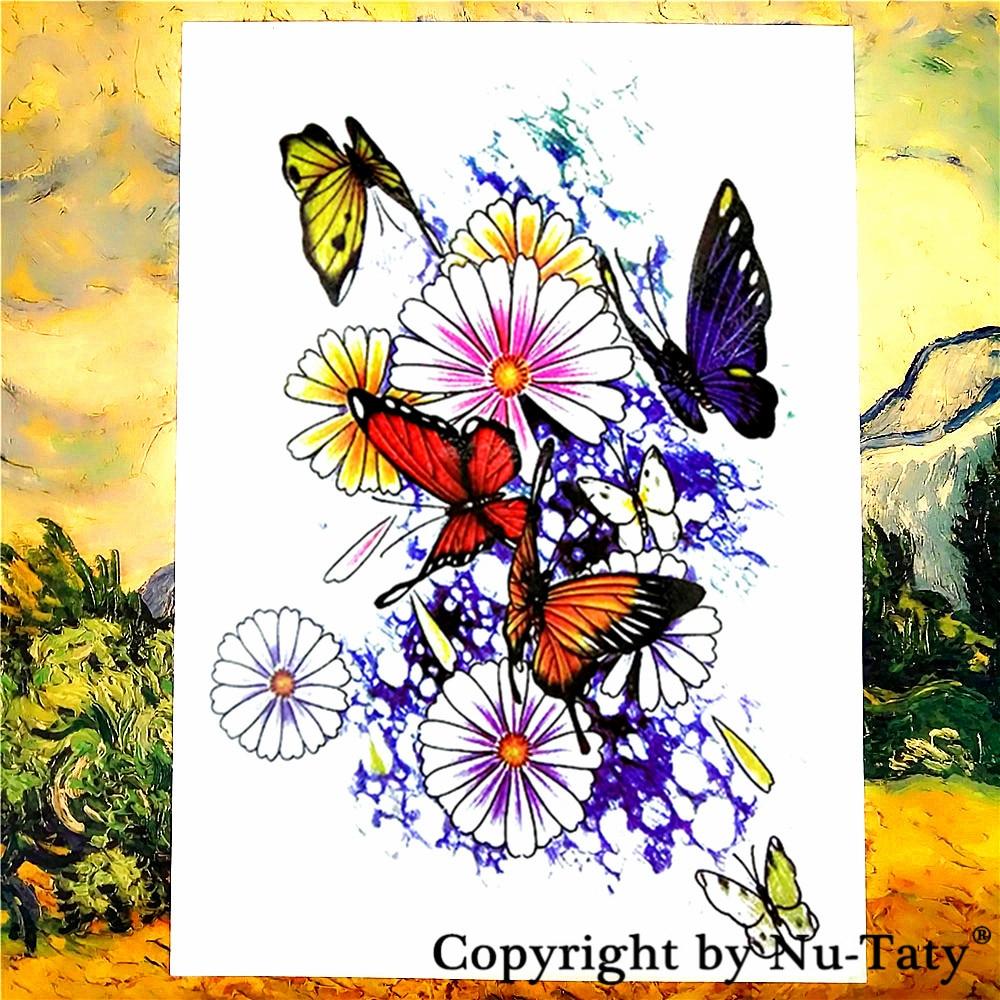 popular amazon wall art buy cheap amazon wall art lots from china shnapign amazon butterfly temporary tattoo body art flash tattoo stickers 21 15cm waterproof car styling
