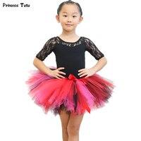 Baby Girl Tulle Tutu Skirt Kids Princess Mini Girl Skirts Fluffy Girls Ball Gown Skirt Children