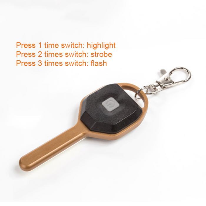HTB1 NahdfWG3KVjSZPcq6zkbXXaH Mini LED Flashlight Light Mini Key Shape Keychain Lamp Torch Emergency Camping Light DTT88
