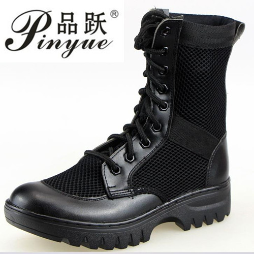 2018 Outdoor Army Boots Light Men's Military Desert Tactical Shoes Autumn Breathable Combat Ankle Boots Botas Tacticos Zapatos