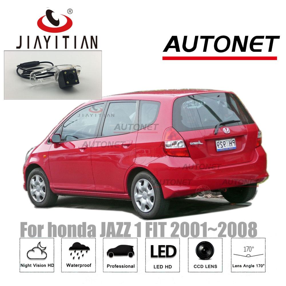 JiaYiTian rear camera for honda Jazz Fit 2001 2002 2003 2004 2005 2006 2007 2008 Reverse Camera CCD Night Vision Backup camera цены онлайн