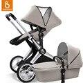 Babysing 2-em-1 sistemas de viagem do bebê carrinho de bebé pram stroller alta vista anti-choque off road com berço xgo