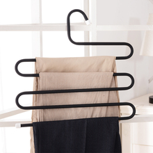 1pc Practical Multi-Purpose 5 Layers Pants Hanger Trousers Tie Rack Space Saving