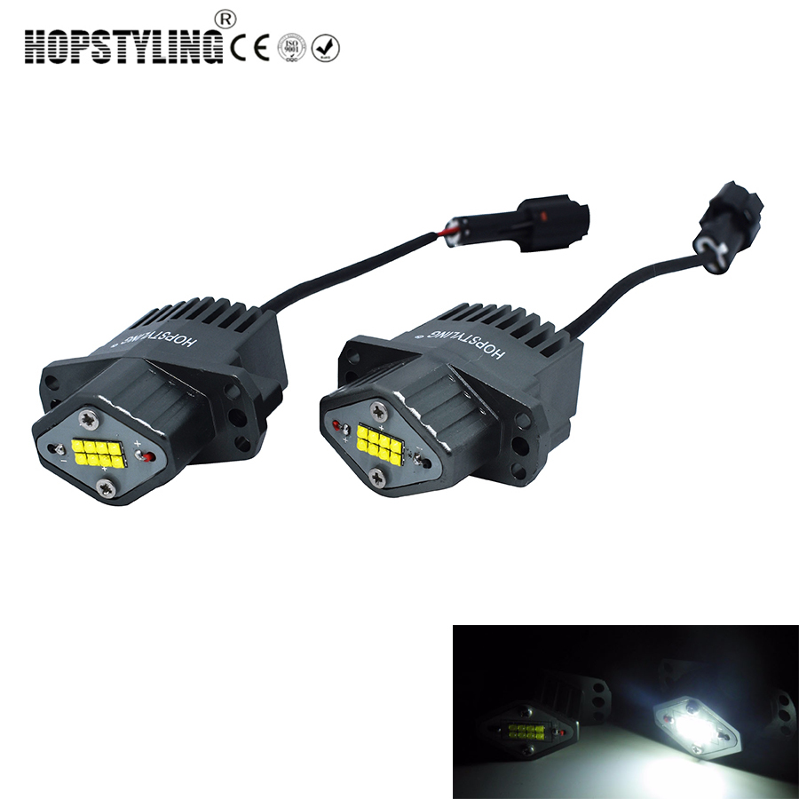 2x80W led marker angel eyes for BMW E90 E91 car replacement headlight accessory auto parts
