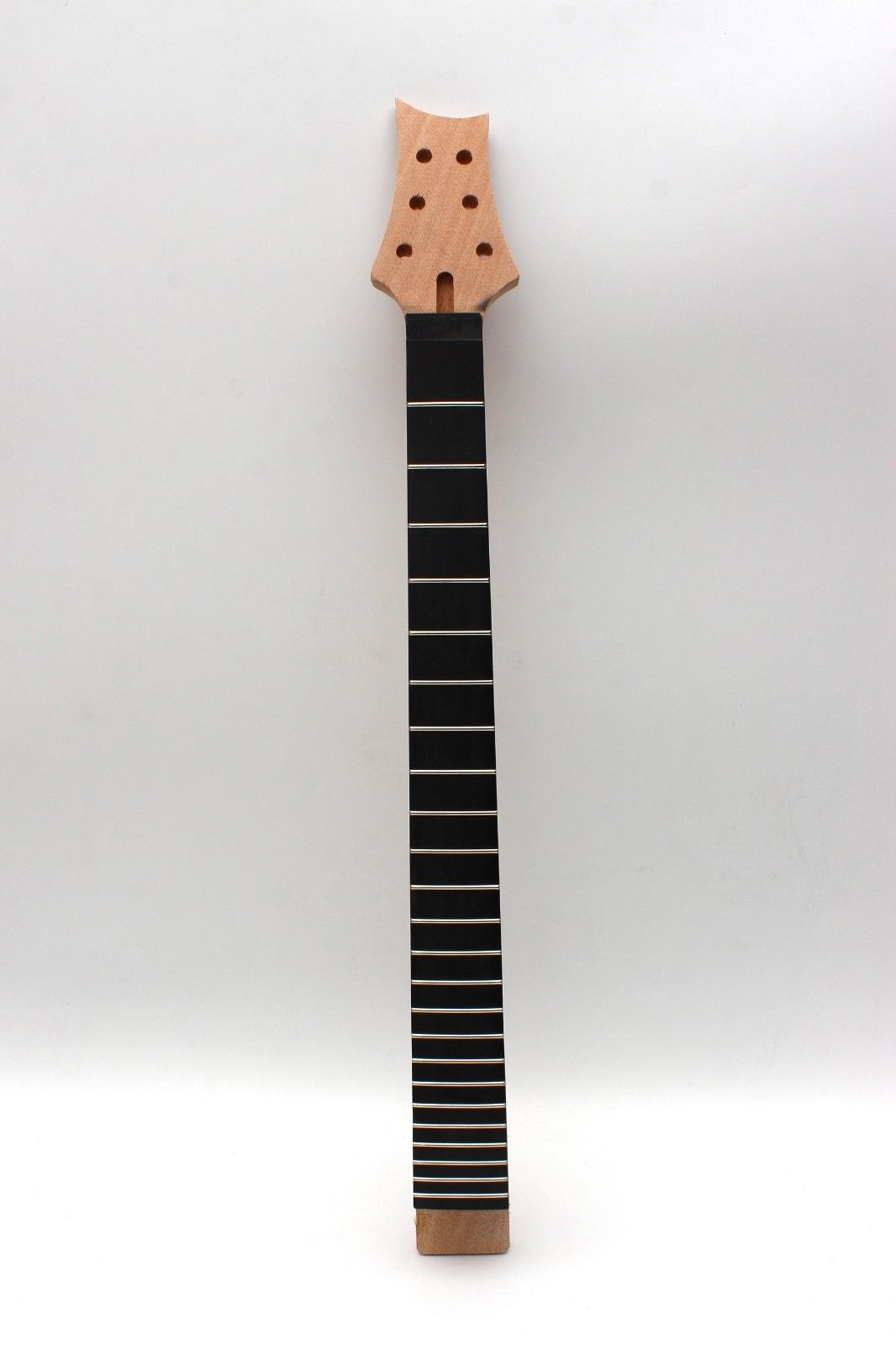 Guitare cou 22 Fret acajou ébène guitare Fretboard écrou de verrouillage pièces 25.5'