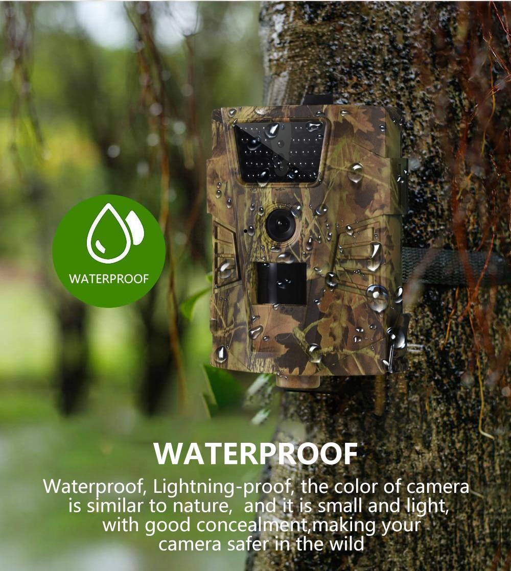 Wildlife Trail Camera HT001B Infrared Night Vision Hunting Cameras 12MP Outdoor Wild Surveillance Tracking