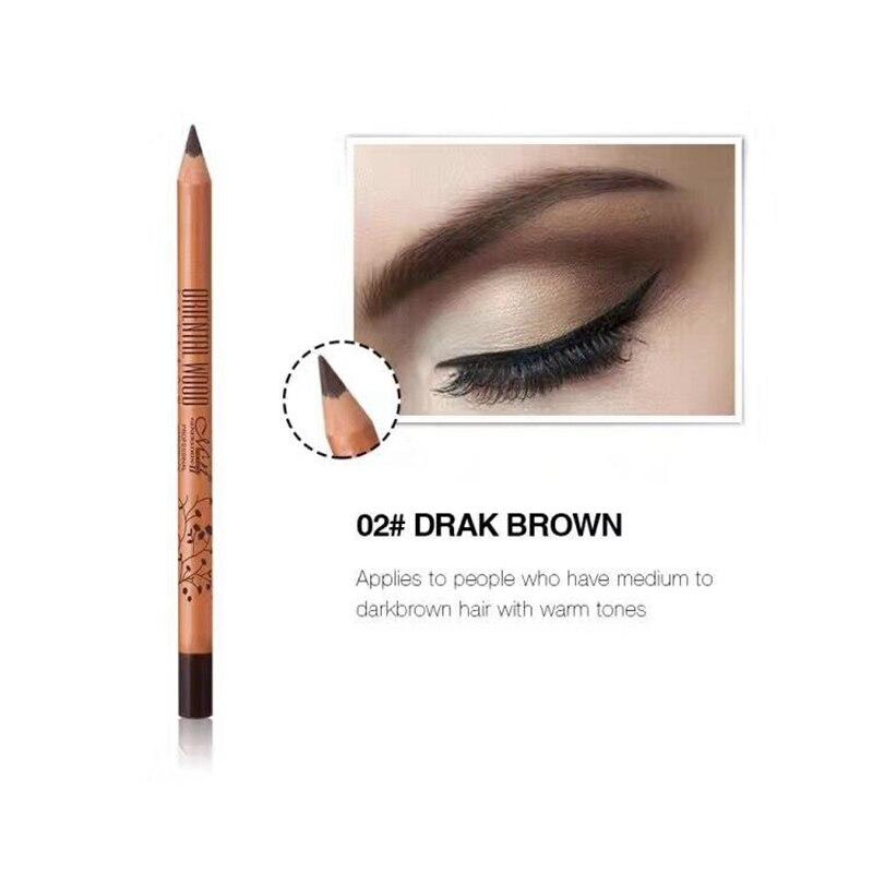 2017 Professional Водонепроницаемый для бровей Макияж легко носить чёрный; коричневый Цвет Для мужчин ВЛ Brand карандаш для бровей для Для женщин Для ...