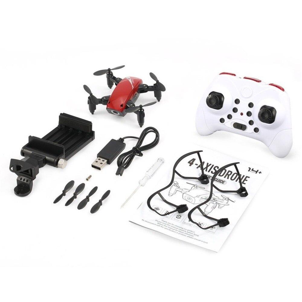 S9/S9W (cámara) drone2.4G Mini plegable Drone 360 grado Flip una tecla de modo de retorno sin cabeza H/L velocidad SwitchRC Quadcopter con luz