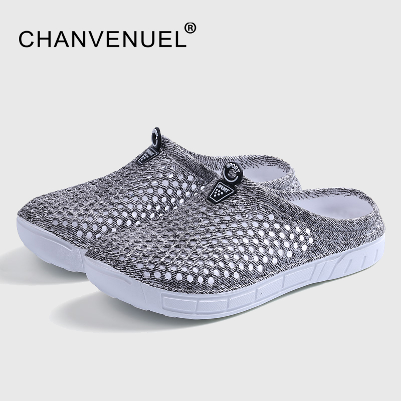 Special Offer Summer Women Clogs Shoes Beach Breathable Slippers Waterproof Anti-Slip Clogs For Women Mule Clogs Lightly Shoes summer special style 100