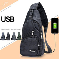 New Sling Backpack Bag Man Chest Pack Men Messenger Bags Casual Travel Fanny Flap Male Small