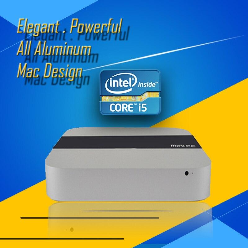 WPNA HTPC S1 Intel CPU Core I5 2 0GHz 4GB 120GB SSD HD Graphics 300M WIFI