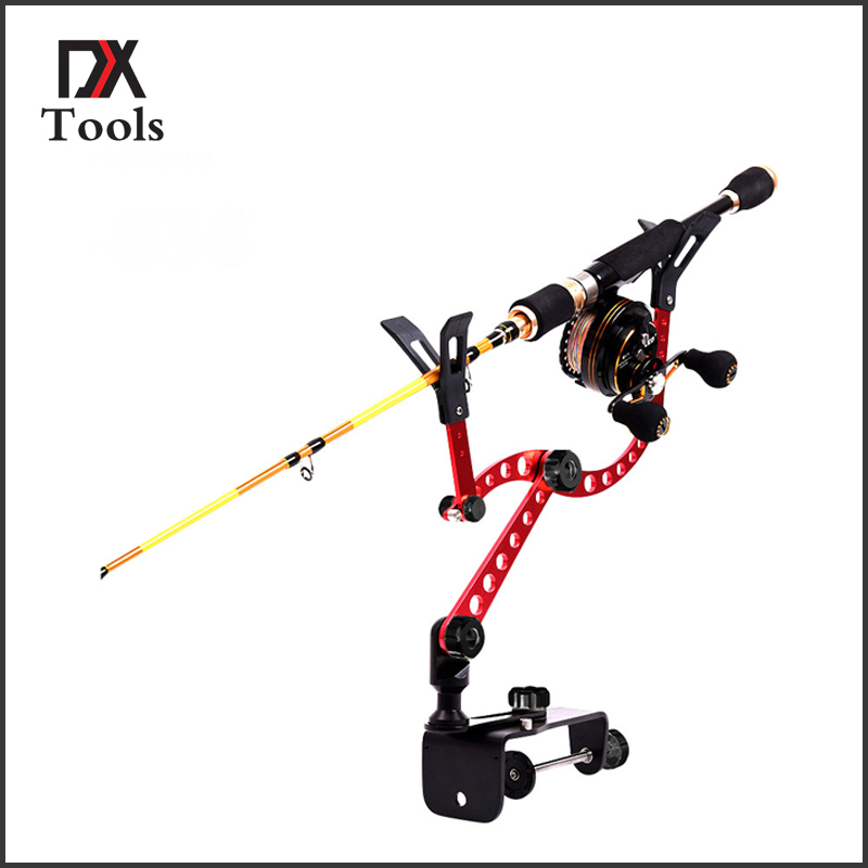 New arrival aluminium alloy fishing rod bracket light weight fishing tackle tool boat fishing for three colors fulang aluminium alloy fishing rotatable umbrella heat protection double layers 2m r35