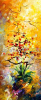 Hot Colorful Oriental Dreams Oil Painting Hand Made On Canvas Wall Pictures For Living Room 16x48inch Frameless