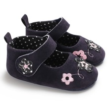 Baby Girl Shoes Princess Cotton Baby Shoes Anti-Slip Soft So
