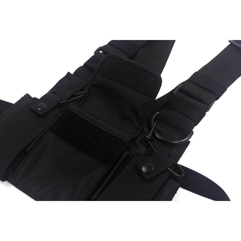 Men's Tactical Shoulder Chest Rig Bag 10