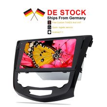 Ship from Germany Android 7 1 font b Car b font Stereo Player For Qashqai X