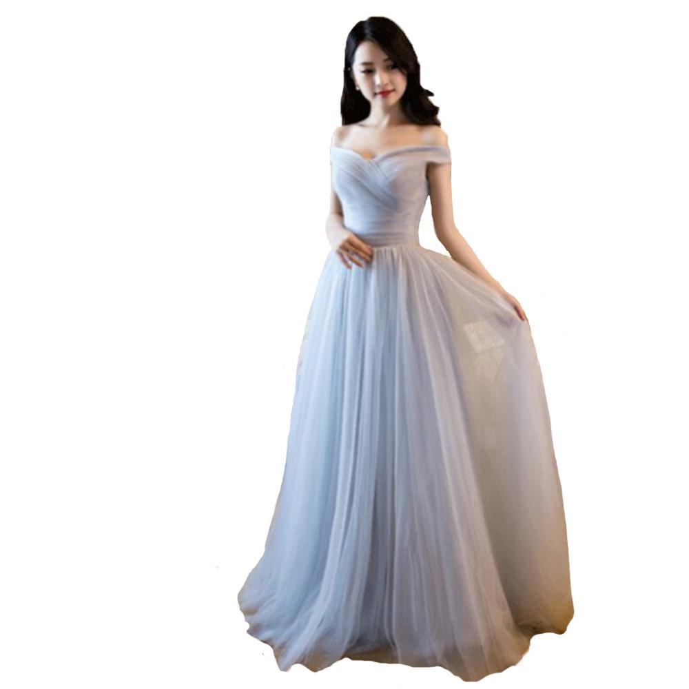 Aliexpresscom Buy Burgundy 2017 Bridesmaid Dress Long Off