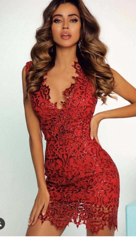Robe de soirée Sexy femmes boîte de nuit célébrité soirée Bandage robe Mini élégant rouge Drersses moulante