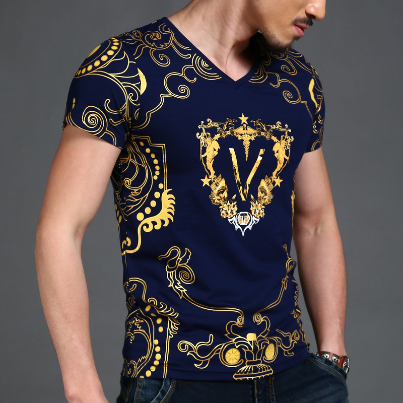 Online buy wholesale v neck tshirts from china v neck for Luxury t shirt printing