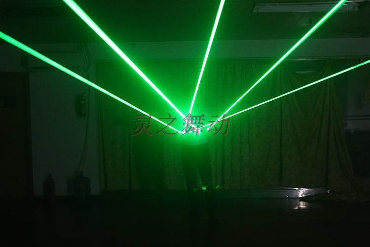 Freies Verschiffen Multifuncation 3 in 1 LED Laser-Handschuh-grünem - Partyartikel und Dekoration - Foto 4
