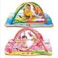 Minúsculo Amor americano multifuncional jogo cobertor do bebê com suporte de música rastejando game pad cobertor quadro de fitness