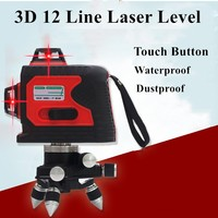 2018 New Professional 12Lines 3D Laser Level Self Leveling 360 Horizontal And Vertical Cross Super Powerful