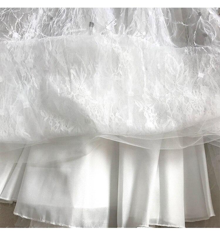Beading Designer Feathers Dresses 14
