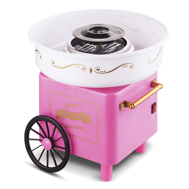 מפואר מכונה צמר גפן מתוק רטרו אוויר חם להכנת צמר גפן מתוק ב-מכונה צמר ZQ-32