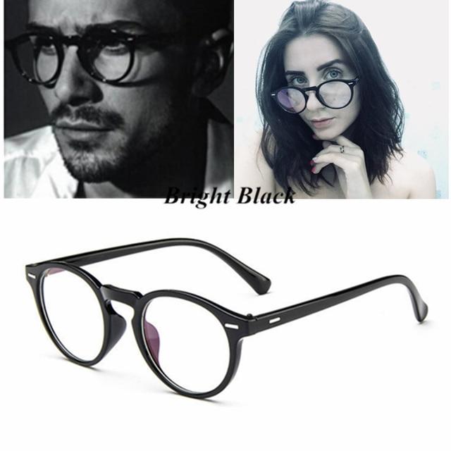 Kottdo 2018 Vintage Retro Rodada Óculos Armação de Óculos de Marca de Grife Para Mulheres Homens vidros do olho Óptico óculos Armação Dos Óculos Da Moda