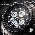 Readeel Homens Relógio Do Esporte Militar Relógios Moda Silicone Digital Watch Homens Relógios De Pulso À Prova D' Água Relógio Masculino relogio masculino
