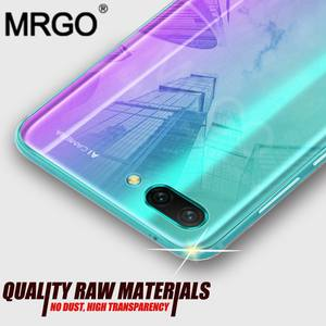MRGO Crystal Clear Case for Huawei Honor 10 Case Silicone on Transparent Protective Cover
