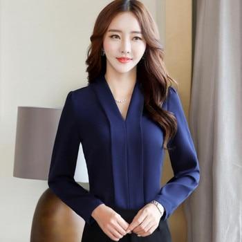 Women Fashion - V-Neck blouse 1