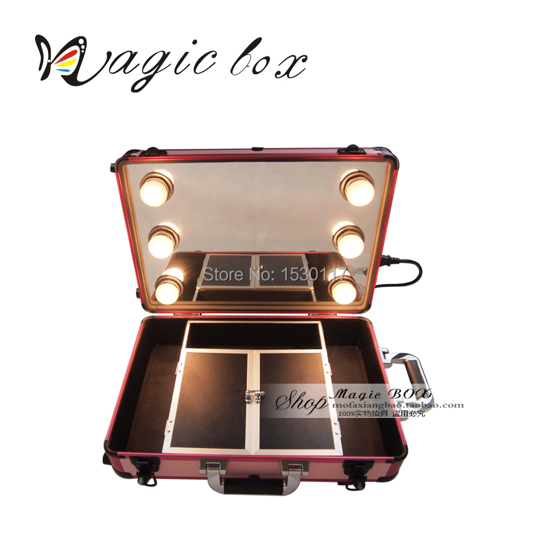 professional makeup with mirror and lights mugeek vidalondon