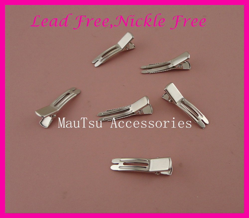 Antique Bronze Double Prong Alligator Clips Baby Girls Hair Clips Hair Accessory