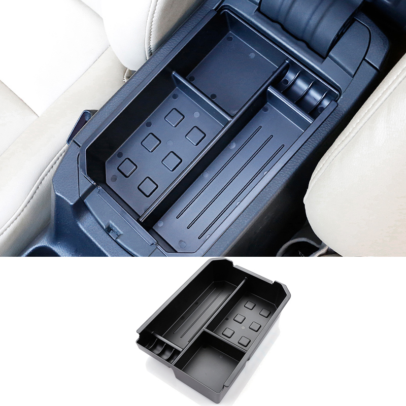 2016 New Car Styling ABS Car Armrest Storage Box Glove Phone Holder Container Glove Box Tray Storage Box For Toyota RAV4 2016