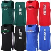 62d0a8a98f872 Deportes Uniformes Chaleco Irving Jersey De Ropa Entrenamiento Los  Baloncesto Diseño Hombres Verde CvqR1wBx