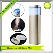 2015 Newest High Quality Hydra Spa Ion Nano Face  Mister Handy Mist Sprayer Face Steamer Personal Humidifier