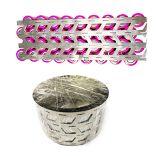 1kg Pure Nickel Belt Strip 4P High Purity 0.15mm 4W type Thickness Used For 18650 Lithium Battery Pack Nickel Belt Spot Welding 99 96% purity nickel belt 18650 lithium battery battery connection piece corrosion protection rust proof nickel belt