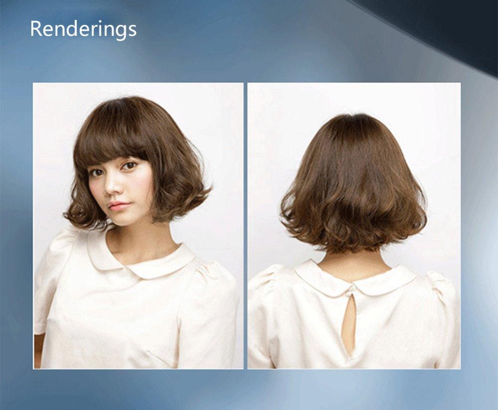 Hair Straightener Comb Hair Electric Brush Heated Round Irons Hair