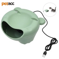 Petacc Pet Water Fountain Cat Drinking Fountain Electric Cat Water Dispenser, Environment friendly and Energy Efficient