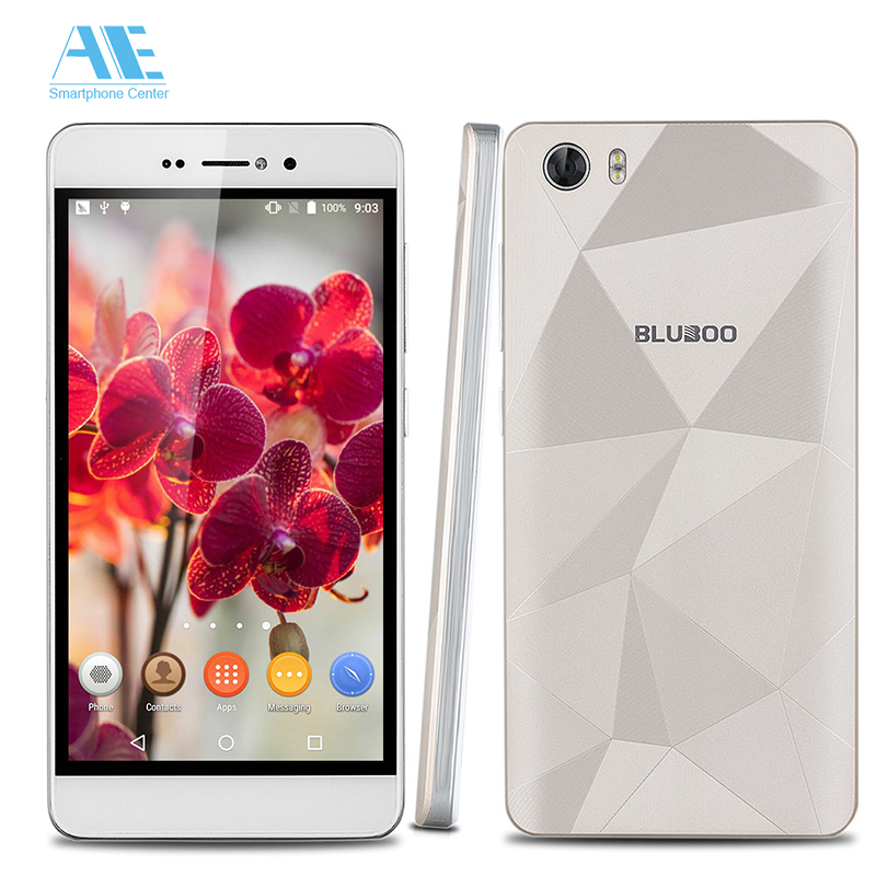 Original Bluboo Picasso 5.0'' HD Screen MTK6580 Quad Core Android 5.1 Cellphone 2G RAM 16G ROM Mobile Phone 3G WCDMA Smartphone