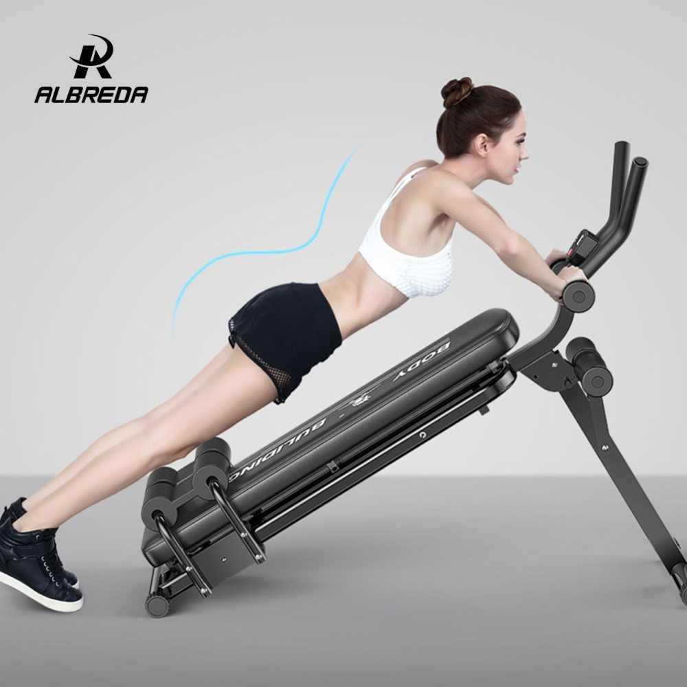 4d9347a8e3109c ... ALBREDA Multifunction Fitness Machines For Home Sit Up Abdominal Bench  fitness Board abdominal Exerciser Equipments Gym ...
