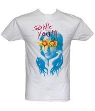 SONIC YOUTH - SUNBURST Official Licensed T-Shirt  Summer T Shirt Brand Fitness Body Building