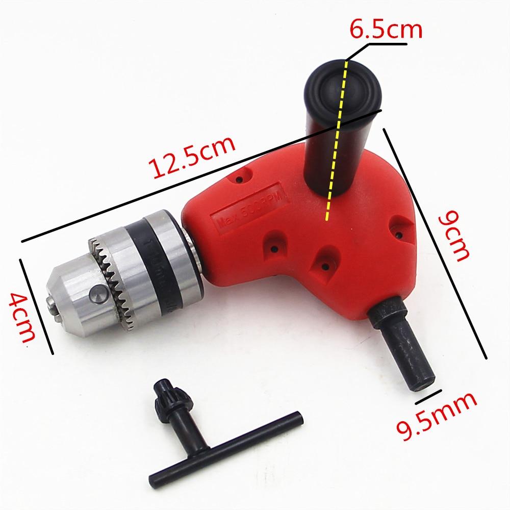 Verstelbare hoek 1-10 mm snelspanboorhouder Adapter Stroomconversie - Boor - Foto 1