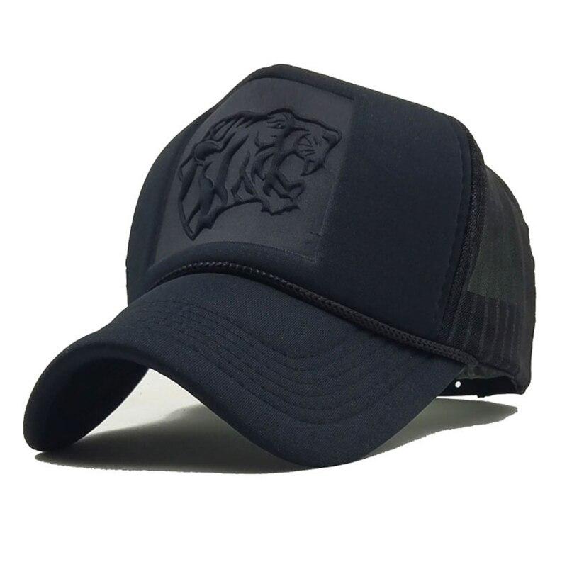 Summer Mesh Snapback Hats Hip Hop leopard Print   Baseball     Caps   Trucker   Cap