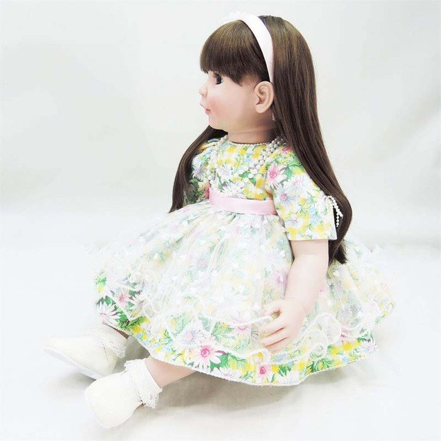 60cm Silicone Vinyl Reborn Baby Doll Simulated