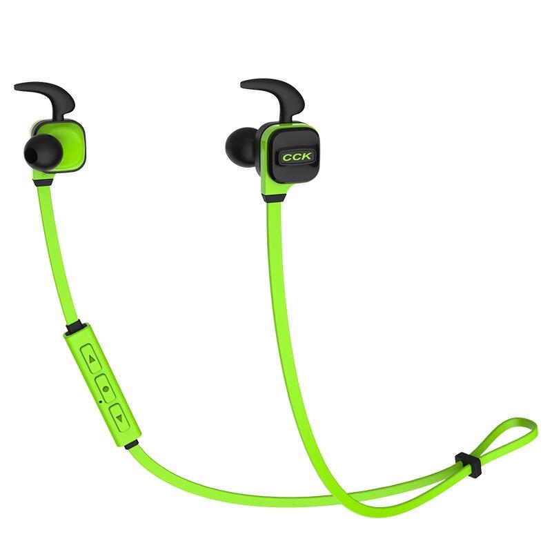 CKK KS Bluetooth Earphone, Sweatproof Sport Wireless Headset, L In-ear Earbuds With MIC Handsfree For Adult Kid Bluetooth Device