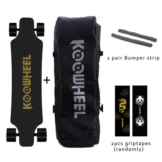 Koowheel allemagne planche à roulettes électrique 2nd génération Longboard électrique 4 roues 5500 mah Samsung batterie équilibreurs hover board