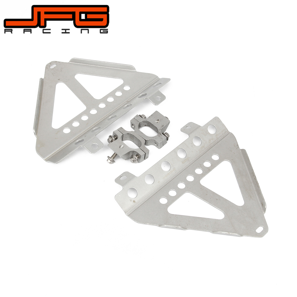 Motorcycle Radiator Guard Cover Bracket For HONDA CRF450R 2013 2014 CRF250R 14 2015 2016 CRF 450R 250R for honda crf 250r 450r 2004 2006 crf 250x 450x 2004 2015 red motorcycle dirt bike off road cnc pivot brake clutch lever